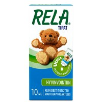Капли с молочно кислыми бактериями для детей Reladrops (зеленый) 10 мл Rela