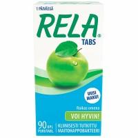Таблетки с молочно кислыми бактериями свежее яблоко RAIKAS OMENA 90 шт Rela