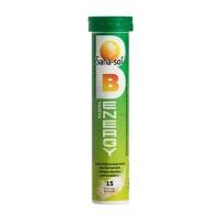 Шипучие таблетки с витамином В-Energy 20 шт Sana-Sol