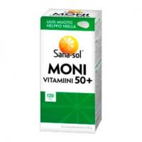 Мультивитаминный комплекс Monivitamiini 50+ 120 таблеток Sana-Sol