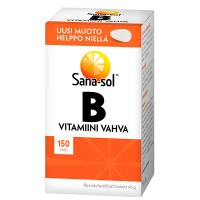 Витамин B Vitamiini Vahva B 150 таблеток Sana-Sol