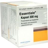 Капсулы Эссенциале для здоровья печени ESSENTIALE Kapseln 300 mg 100 шт Sanofi