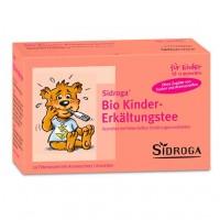 Чай для детей от простуды и гриппа SIDROGA Bio Kinder-Erkältungstee Filterbeutel 20 шт SIDROGA