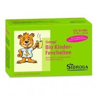Чай для детей с фенхелем для улучшения пищеварения SIDROGA Bio Kinder-Fencheltee Filterbeutel 20 шт SIDROGA