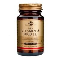 Витамин A-VITAMIINI 5000 IU 100 таблеток Solgar