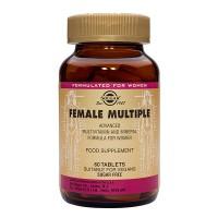 Витамины для женщин Female Multiple 120 капсул Solgar