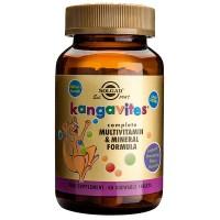Витамины для детей Kangavites® Bouncing Berries 120 капсул Solgar