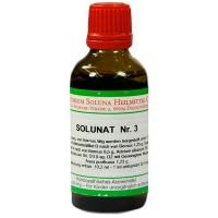Гомеопатические капли SOLUNAT Nr.3 Tropfen 100 мл Soluna
