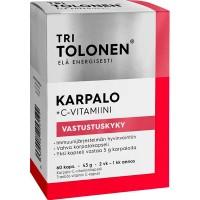 Витамины с клюквой для женской иммунной системы Karpalo 60 капсул Tri Tolonen