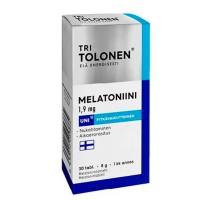 Таблетки для сна с мелатонином MELATONIN 1,9mg 30 шт Tri Tolonen