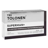 Витамины Superman для мужчин 60 таблеток Tri Tolonen