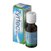 Капли от аллергии ZYRTEC 10 MG/ML TIPAT 20 мл UCB