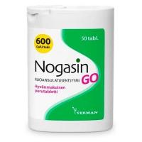 Препарат для лечения желудка и метеоризма NOGASIN GO PURUTABL 50 жевательные таблетки Verman