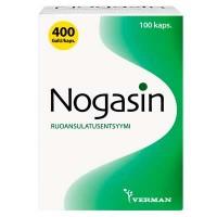 Препарат для лечения желудка и метеоризма NOGASIN KAPS 100 капсул Verman
