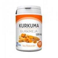 Антиоксидантами с куркумой Kurkuma 500 mg 60 таблеток Via Naturale
