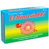 Эхинацея с цинком и витаминос С Echinasinkki 18 таблеток Vitabalans