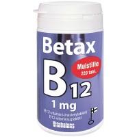 Витамин B12 Betax B12 1 мг 220 таблеток Vitabalans