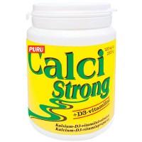 Витамины с кальцием Calci Strong 500 мг + D3-vitamiini 25 мкг 120 таблеток Vitabalans