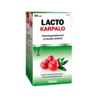 Препарат экстракта клюквы и четырех различных штаммов молочнокислых бактерий Lacto Karpalo 60 капсул Vitabalans