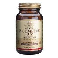 """Витамин B-Complex """"50"""" 100 капсул Solgar"""