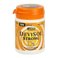 Витамины D3 100 мкг Devisol Strong 100 таблеток Devisol