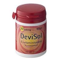 Витамины D3 20 мкг D3-Vitamiini 100 таблеток Devisol