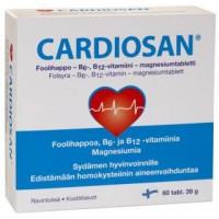 Витамины для сердца CardioSan 60 таблеток Hankintatukku
