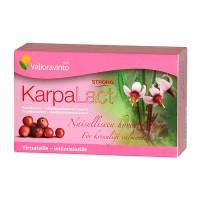 Витамины Karpalact с экстрактом клюквы при проблемах мочевыводящих путей 20 капсул Valioravinto