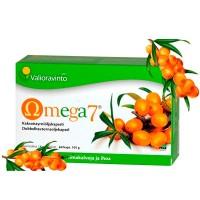 Витамины Облепиха Omega7-tyrniöljykapseli 150 капсул Valioravinto