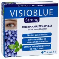 Витамины с экстрактом черники Visioblue Strong 60 капсул Hankintatukku