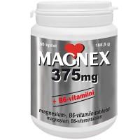 Витамины с магнием и B6 MAGNEX 375 mg + B6 180 таблеток Vitabalans