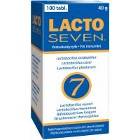 Витамины с молочно-кислыми бактериями Lacto Seven 100 таблеток Vitabalans