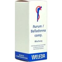 Смесь для сердечно-сосудистой системы AURUM/BELLADONNA comp.Mischung 50 мл Weleda