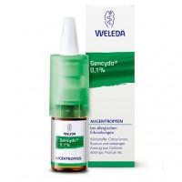 Капли для глаз при аллергических заболеваниях GENCYDO 0,1% Augentropfen 10 мл Weleda