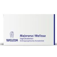 Вагинальные таблетки при воспалении влагалища MAJORANA/MELISSA Vaginaltabletten 10 шт Weleda