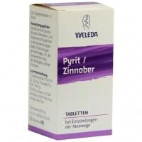 Лекарство от воспаления дыхательных путей PYRIT ZINNOBER Tabletten 80 шт Weleda