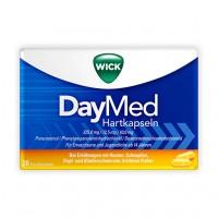Препарат от простуды и гриппа с парацетамолом WICK DayMed Hartkapseln 20 шт WICK