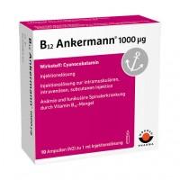 Витамин B12 ANKERMANN 1.000 μg Ampullen 10X1 мл Worwag