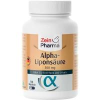 АЛЬФА-ЛИПОНОВАЯ КИСЛОТА ALPHA LIPONSAEURE 300 mg Kapseln 90 капсул Zein Pharma