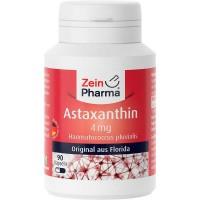 Антиоксидант АСТАКСАНТИН ASTAXANTHIN 4 mg pro Kapsel 90 капсул Zein Pharma