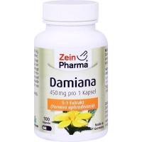 Капсулы с экстрактом листьев ДАМИАНА DAMIANA KAPSELN 450 mg 5:1 Blattextrakt 100 шт Zein Pharma
