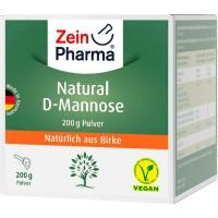 Порошок Д-маннозы при инфекциях мочевого пузыря NATURAL D-Mannose aus Birke Pulver 200 гр Zein Pharma