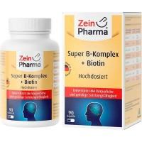Витамин B SUPER B-KOMPLEX+Biotin 90 капсул Zein Pharma